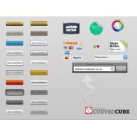 Web User Interface Buttons