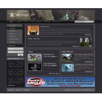 Videogames Site Tamplate
