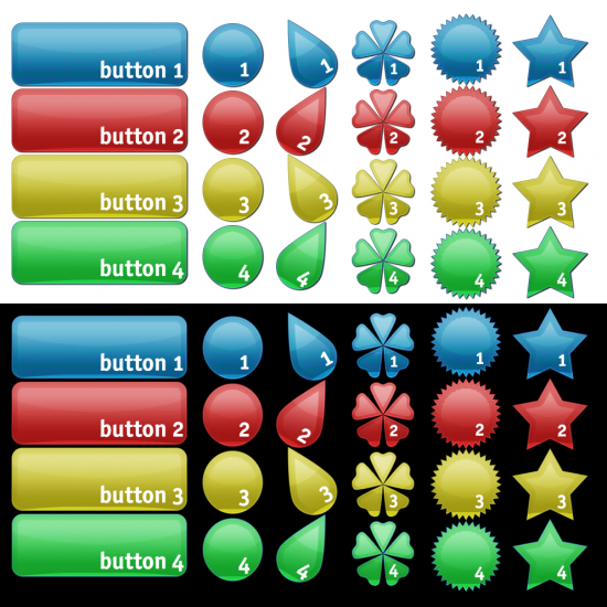 Shape Buttons