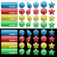 Shape Buttons