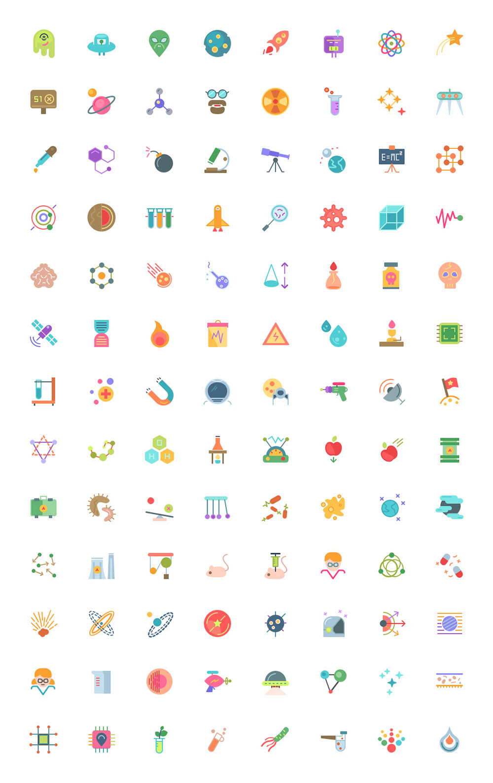 104 Icons In 3 Styles