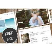 PSD Portfolio Layout