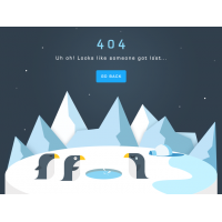 Arctic 404 Page