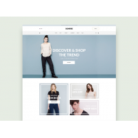 Free E-Commerce layout PSD