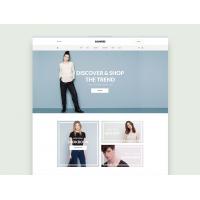 Free E-Commerce layout PSD