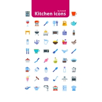 50 Kitchen Icons