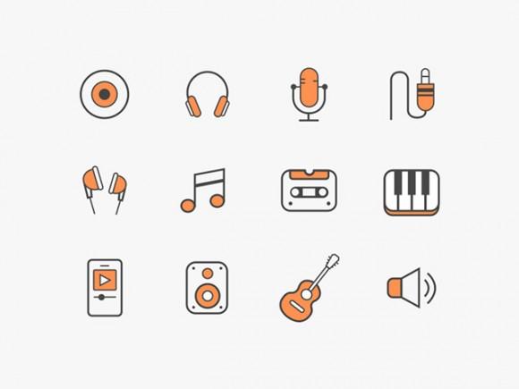 12 Music Icons