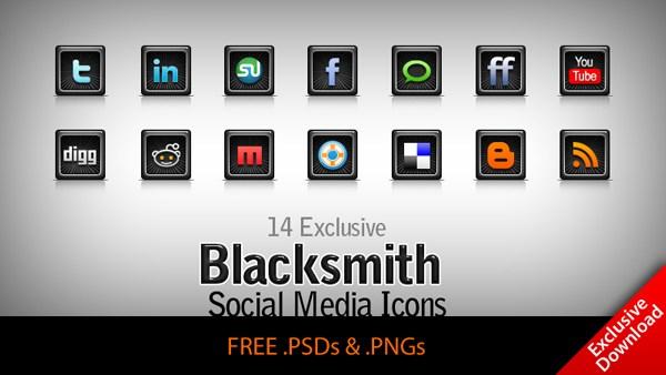 Blacksmith – 14 exclusive free Social Network