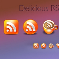 Deliciously Brilliant RSS Icons Pack