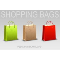 Download Shopping Bag & Icons