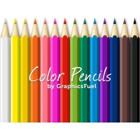 Color Pencils PSD Pack