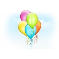 Balloons PSD Template