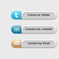 Classy Social Media Buttons