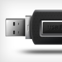 USB Pen-Drive Icon