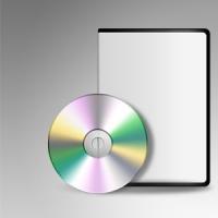 Blank DVD CD Template