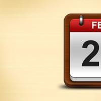 Calendar Icon PSD