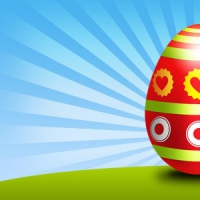 Easter Eegg PSD Template