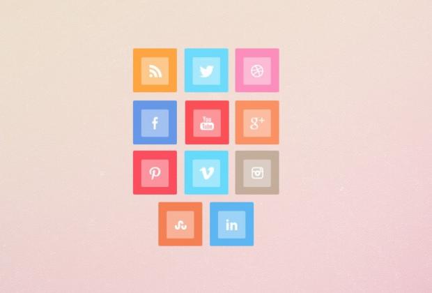 Metro Style Free Social Media Icon Set