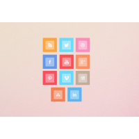 Metro Style Free Social Media Icon Set