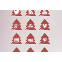 Christmas Tree Free Social Media Icons