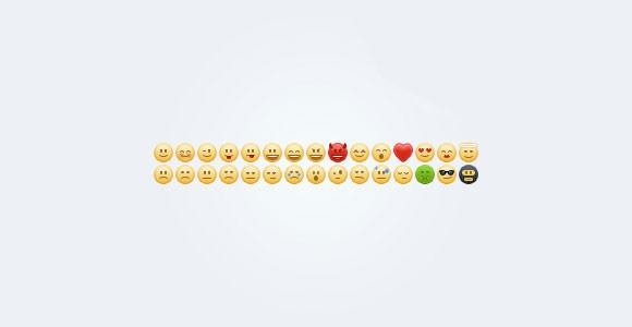 30 Emoticons Free