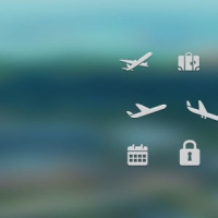 Free PSD Travel Icons