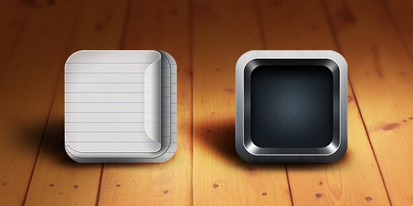 Retina-Ready iOS App Icon Templates