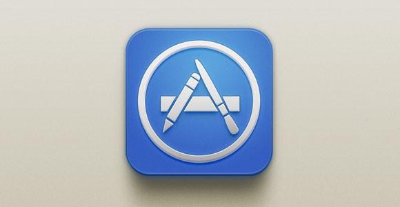 App Store iOS PSD Icon