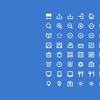80 Shades Of White Icons PSD