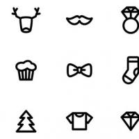 Sunday Market Free PSD Icons