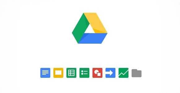 Google Drive PSD Icons