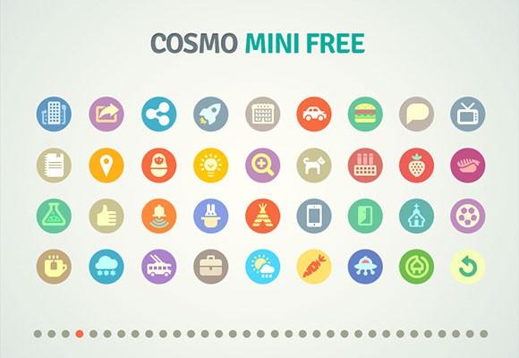 Cosmo 1262 Icons Mini Free