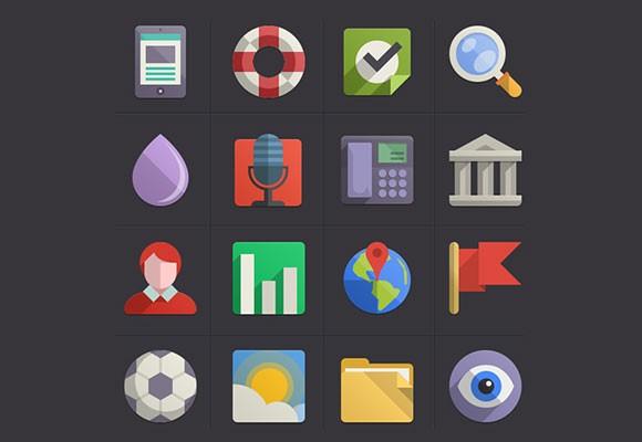 Flat Design Icons Vol4