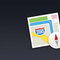 iOS7 Map Icon PSD
