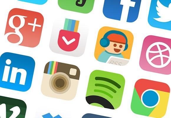 iOS7 Icons Redesigned #2