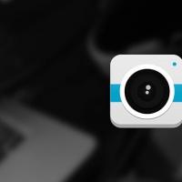Flat-Style Camera Icon