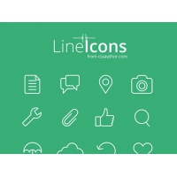 Line Icons For Web And UI Designs