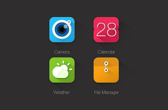 4 Free Icons For Apps