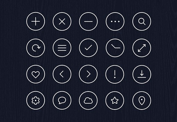 Free Icon Pack – Vol. 1