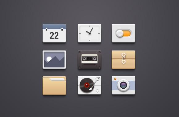 9 UI Free Icons