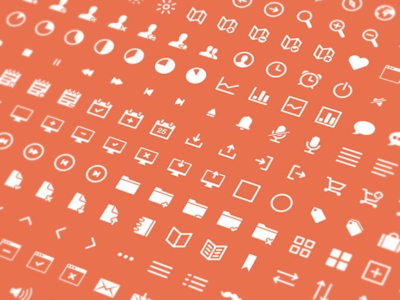 ICONS – 264 Free Vector Icons