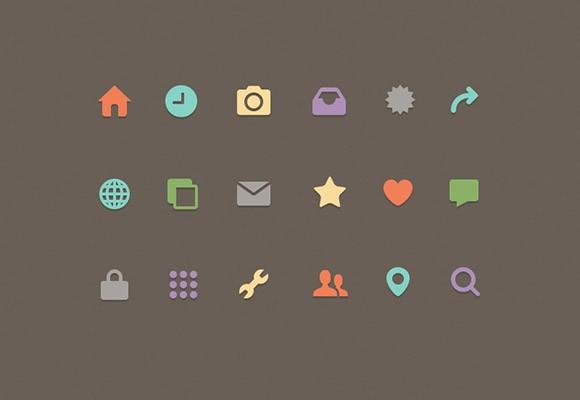 Freebee Icons – 18 Free Icons