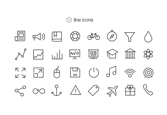 Tab Bar Icons For iOS7 – Vol4