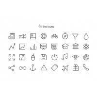 Tab Bar Icons For iOS7 – Vol4