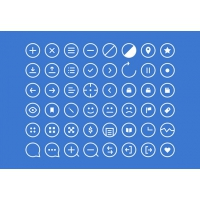 48 Essential Rounded Icons