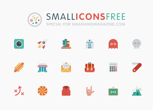 54 Colorful Small Icons