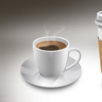 Coffee Cups PSD