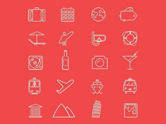 20 Mixed Icons