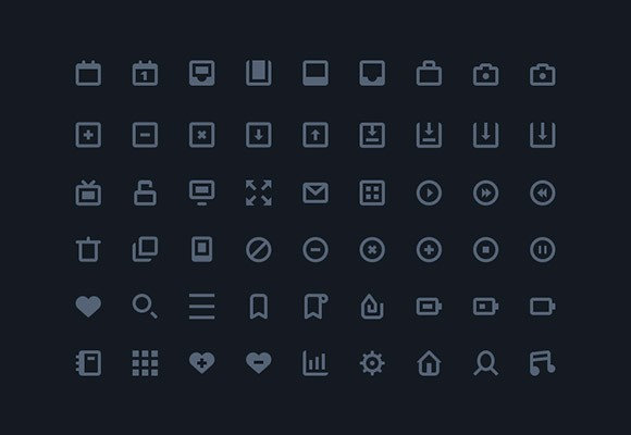 54 Stylish Icons AI