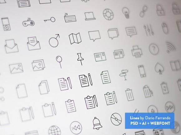 Linea – Line Icon Set